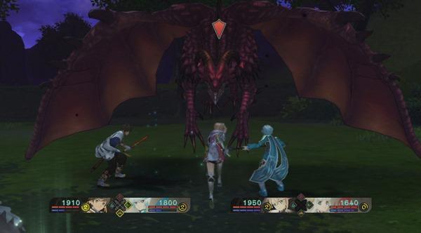 Tales of Zestiria - Dragon Combat