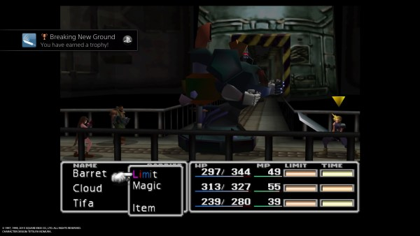 FINAL FANTASY VII Breaking New Ground