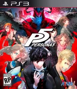 Persona 5 PS3 Boxart