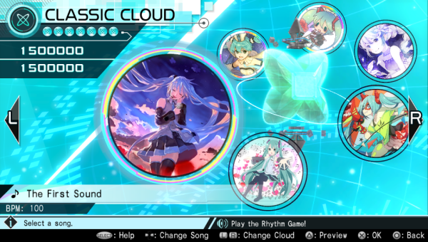 Project Diva X Song Selection
