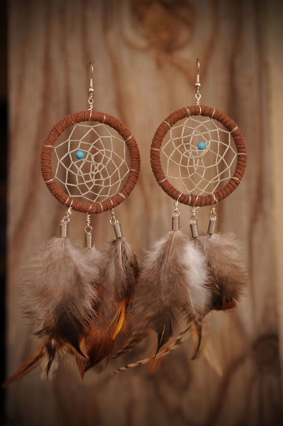How to Make Dream Catcher Earrings