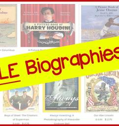 Best Biographies for Kids in Grades 1-8 [ 770 x 1751 Pixel ]