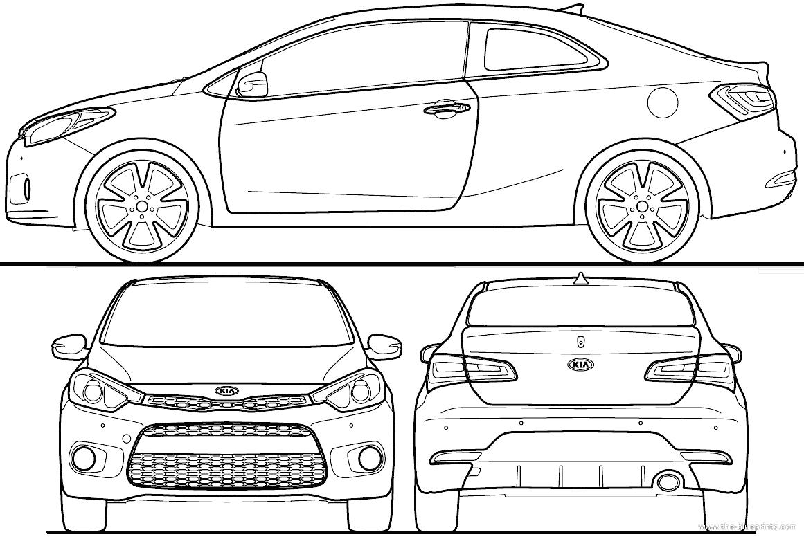Blueprints Gt Cars Gt Kia Gt Kia Forte Koup