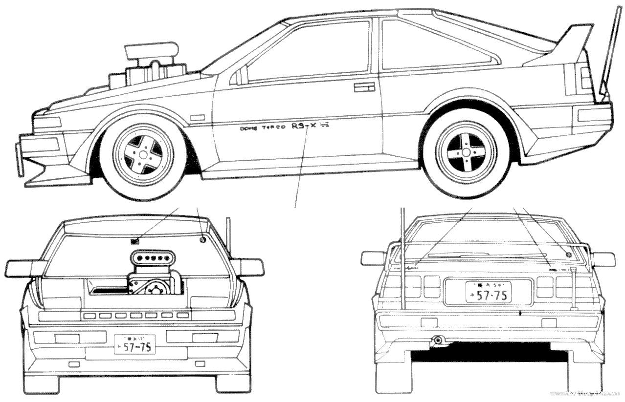 Blueprints Gt Cars Gt Nissan Gt Nissan Silvia S12 Hot Rod