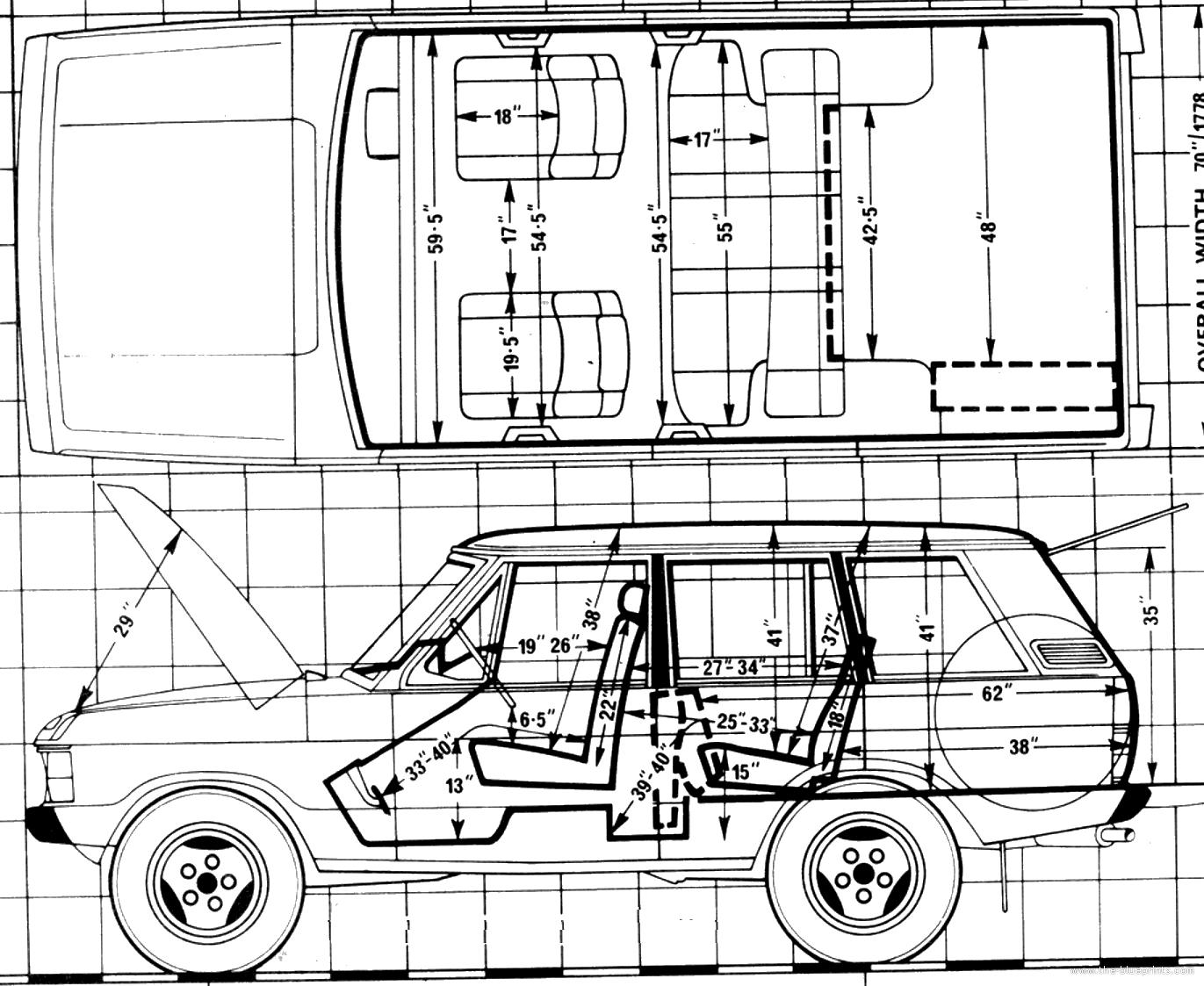Blueprints Gt Cars Gt Range Rover Gt Range Rover 3 5 V8 4