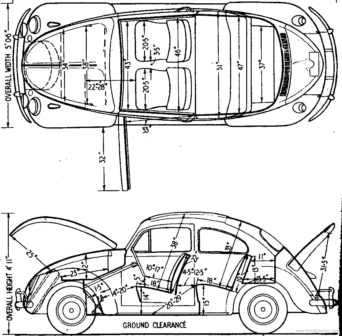 Blueprints Gt Cars Gt Volkswagen Gt Volkswagen Beetle