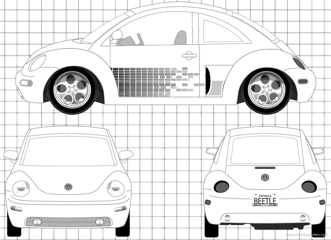 Blueprints Gt Cars Gt Volkswagen Gt Volkswagen New Beetle
