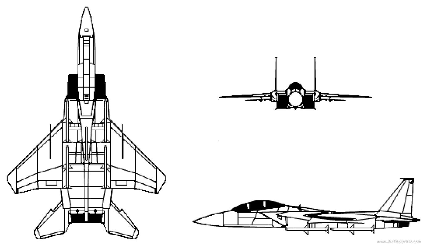 Blueprints Gt Modern Airplanes Gt Mcdonnell Douglas