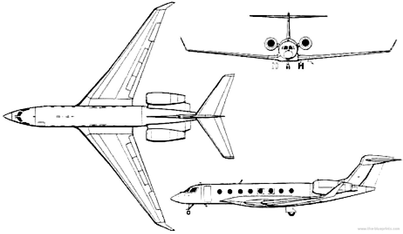 Blueprints Gt Modern Airplanes Gt Modern G Gt Gulfstream G650