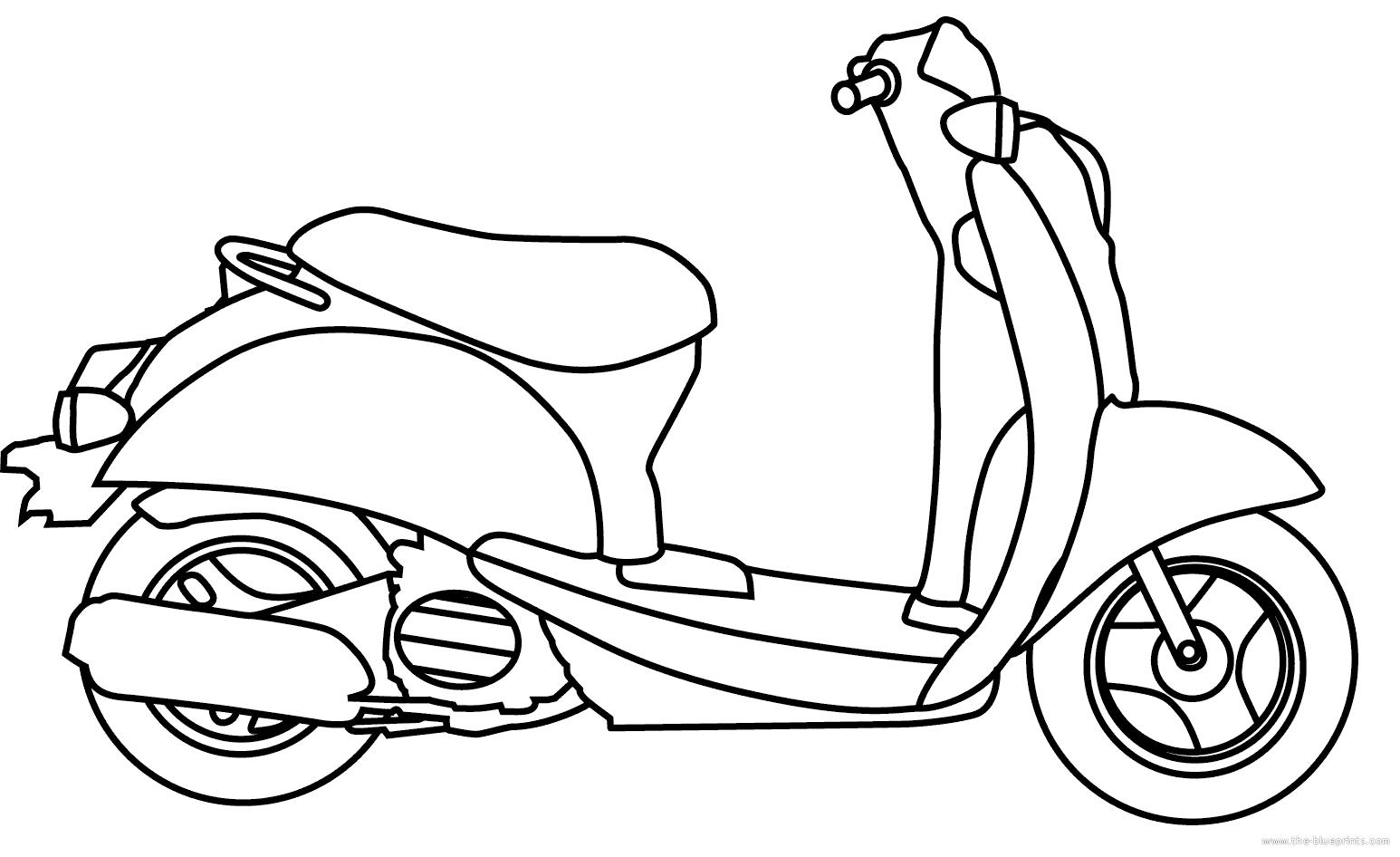Blueprints Gt Motorcycles Gt Honda Gt Honda Scooter