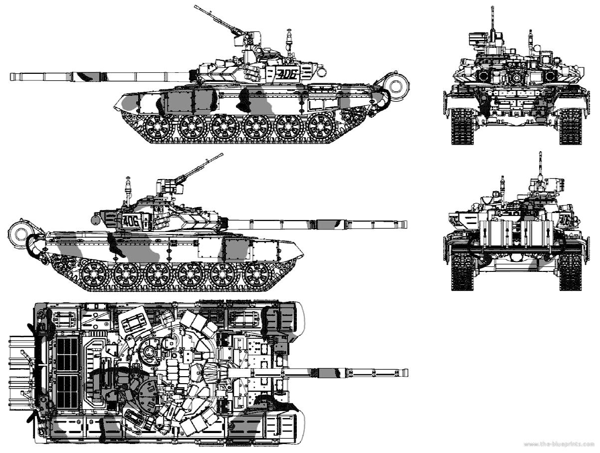 Blueprints Gt Tanks Gt Tanks T Gt T 90
