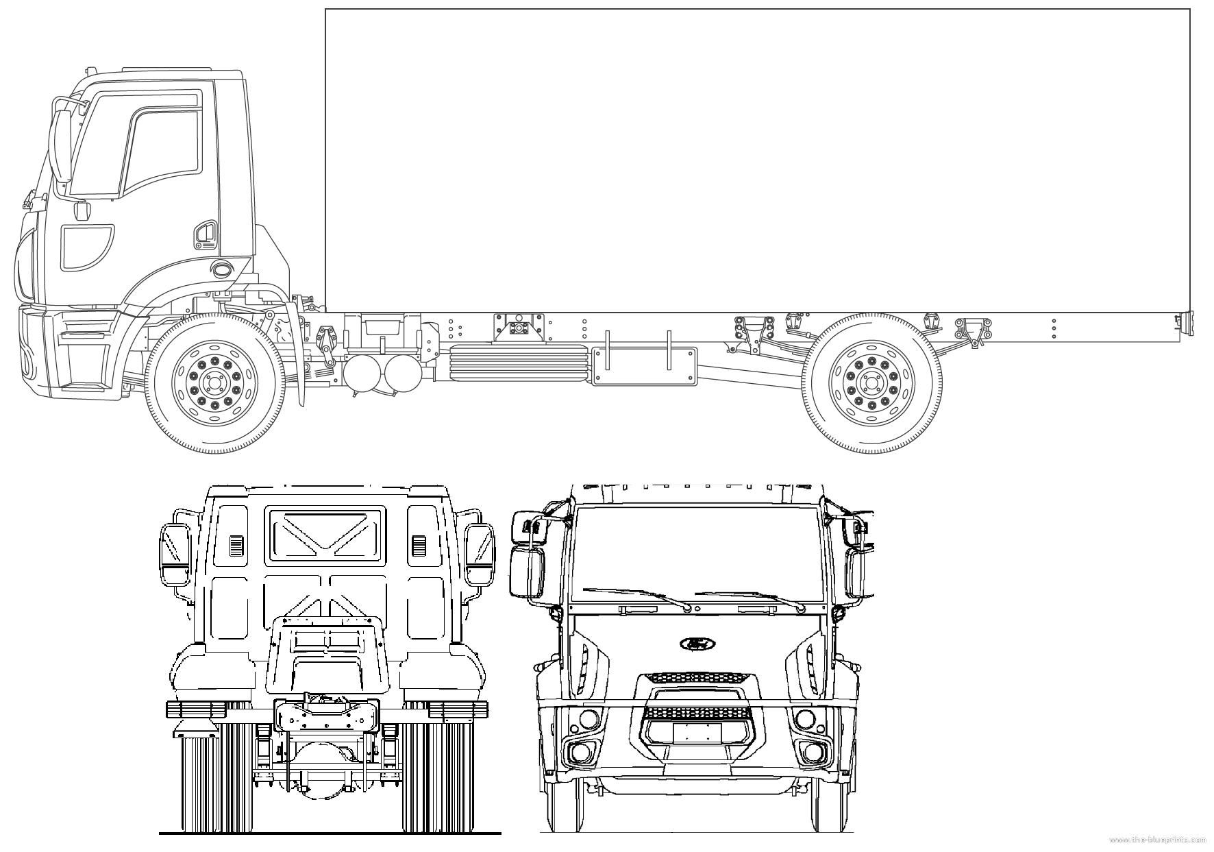Blueprints Gt Trucks Gt Ford Gt Ford Br Cargo Platform