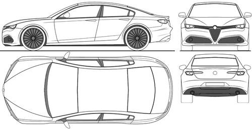 Blueprints > Cars > Alfa Romeo > Alfa Romeo 169 (2016)