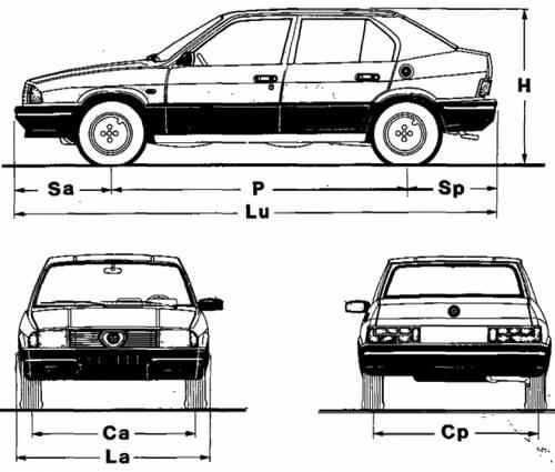 Blueprints > Cars > Alfa Romeo > Alfa Romeo 33 (1983)