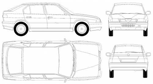 Blueprints > Cars > Alfa Romeo > Alfa Romeo 33 (1991)