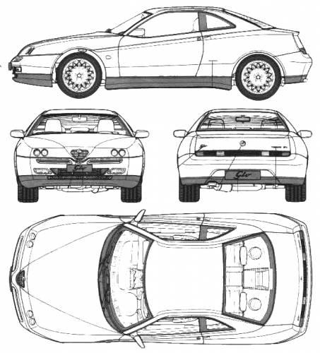 1000+ images about Alfa Romeo GTV (916) on Pinterest