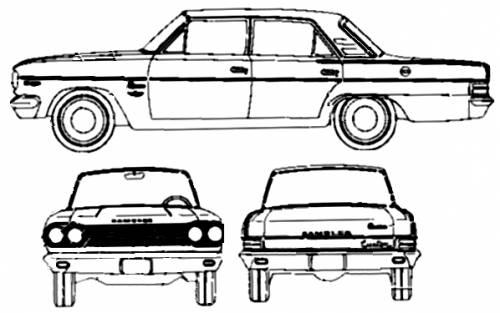 Blueprints > Cars > AMC > AMC Rambler Classic 330 4-Door