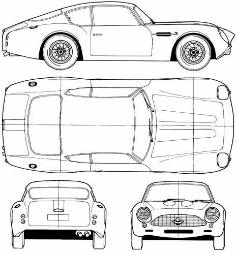 Blueprints > Cars > Aston Martin > Aston Martin DB4 GT