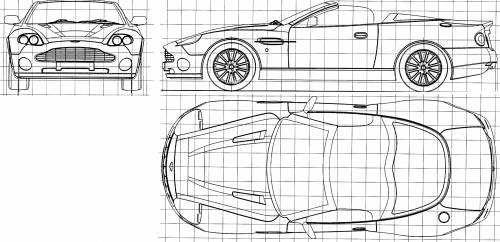 Blueprints > Cars > Aston Martin > Aston Martin DB7 Zagato