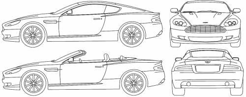 Aston Martin DB9 (2005)