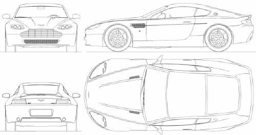 Blueprints > Cars > Aston Martin > Aston Martin V8 Vantage
