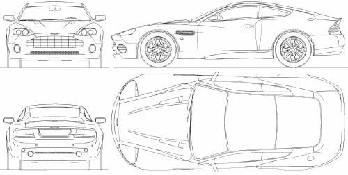 Blueprints > Cars > Aston Martin > Aston Martin Vanquish