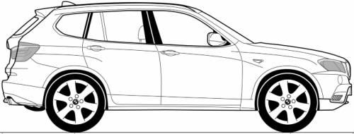 Blueprints > Cars > BMW > BMW X3 (E83) (2013)