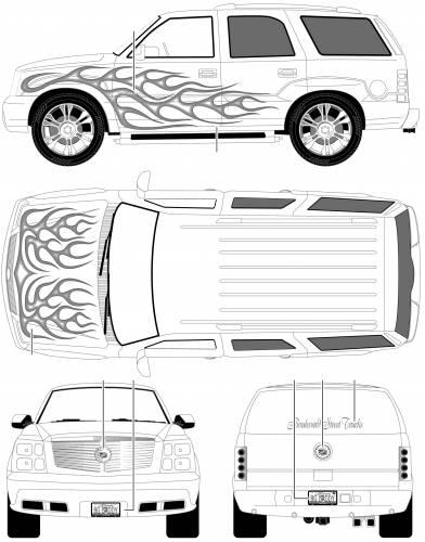 Blueprints > Cars > Cadillac > Cadillac Escalade