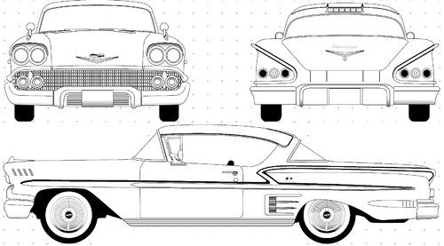 Blueprints > Cars > Chevrolet > Chevrolet Impala 2-Door