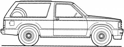 Chevrolet S10 Blazer (1983)