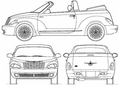 Blueprints > Cars > Chrysler > Chrysler PT Cruiser