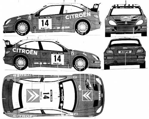 Blueprints > Cars > Citroen > Citroen Xsara WRC (2001)