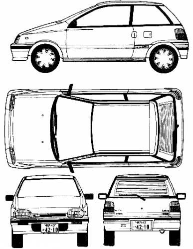 1986 Daihatsu Leeza related infomation,specifications