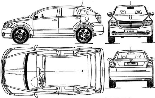 Blueprints > Cars > Dodge > Dodge Caliber (2008)
