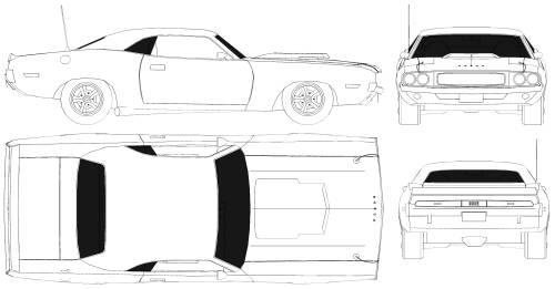 Blueprints > Cars > Dodge > Dodge Challenger
