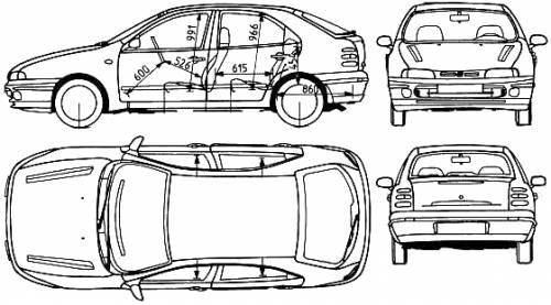 Blueprints > Cars > Fiat > Fiat Brava