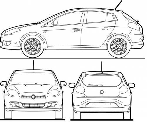 Blueprints > Cars > Fiat > Fiat Bravo (2012)