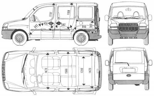 Blueprints > Cars > Fiat > Fiat Doblo