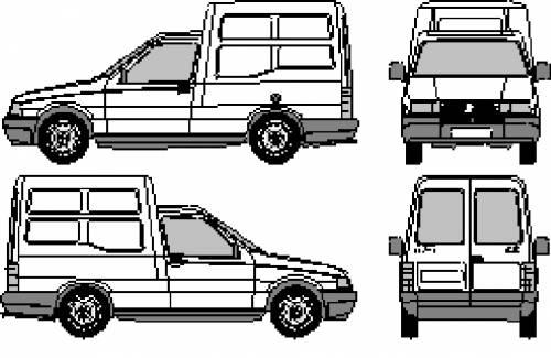 Fiat Fiorino Brazil (1993)