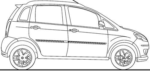 Blueprints > Cars > Fiat > Fiat Idea (2016)