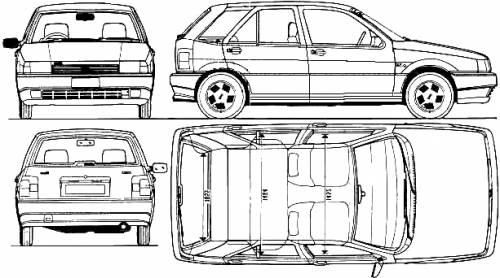 Fiat Tipo 1.4 S (1990)