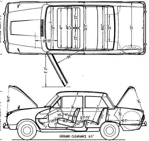 Blueprints > Cars > Ford > Ford Cortina Mk.I 1200 (1962)