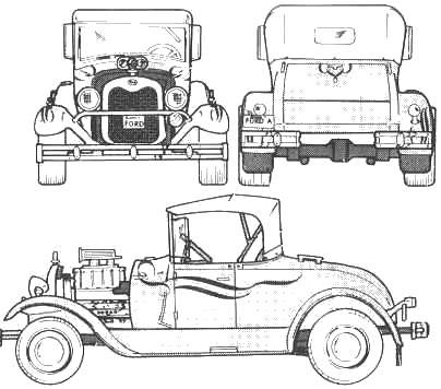 1929 Studebaker Wiring Diagram. 1929. Wiring Diagram