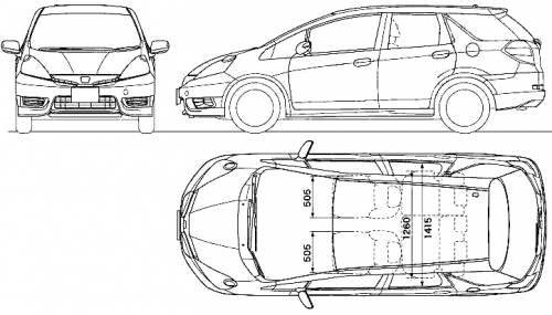 Honda Fit Shuttle (2011)