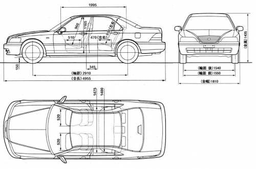 Blueprints > Cars > Honda > Honda Legend