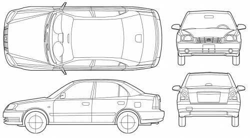 Hyundai Accent Sedan (2005)