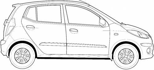 Blueprints > Cars > Hyundai > Hyundai i10 (2013)