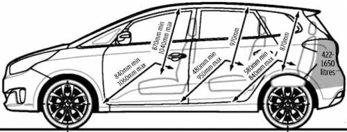 Blueprints > Cars > Kia > Kia Carens (2013)