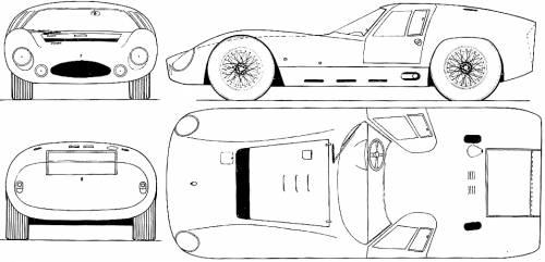 Blueprints > Cars > Maserati > Maserati 151-3 LM 5000 GT