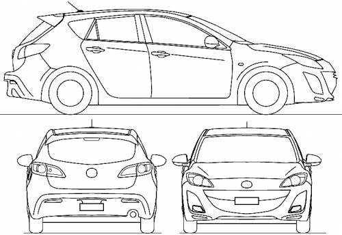 Mazda 3 S2 5-Door (2009)